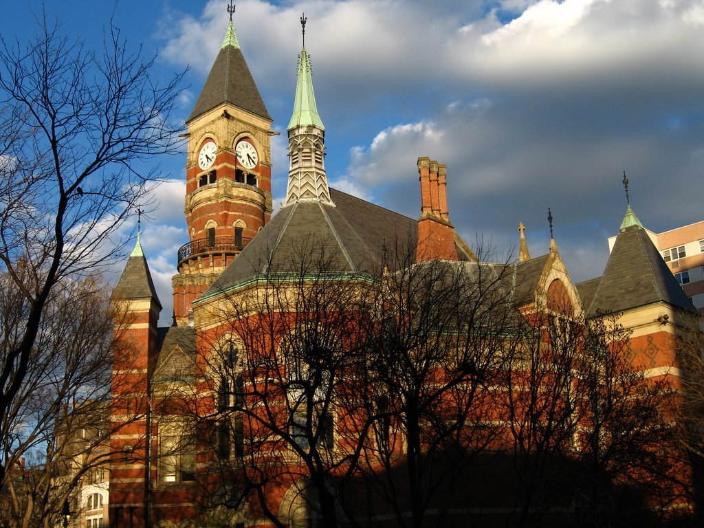 TammanyHall: Jefferson Market Library