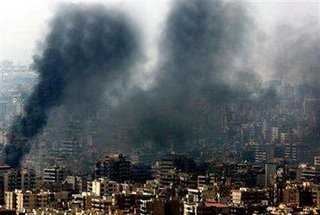 Photo of Beirut published and withdrawn by Reuters