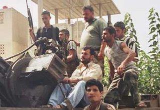Hizbollah in the barracks