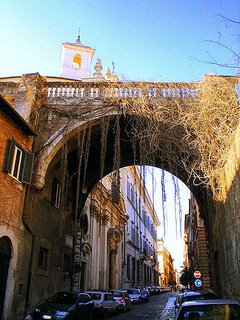 via Giulia - Rome (photo: Massim. F.)