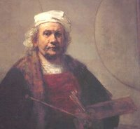 Rembrandt -- self portrait