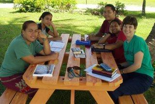 Student discipleship group