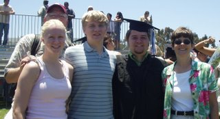 Kirk's graduation