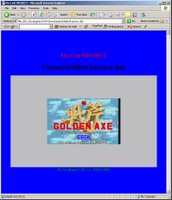 Golden Axe VGA in a Java Applet!
