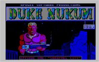 Duke Nukem EGA in a Java Applet!