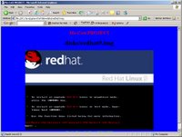 RedHat Linux in a Java Applet!