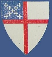 Episcopal Church Shield hyperlinked to ONE Episcopalian