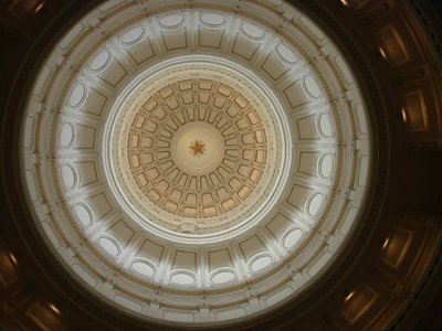 Inside of Texas State Capitol Dome, Austin, August 2005