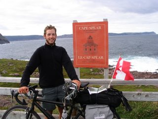 Cycling Canada from BC to Newfoundland (2006)