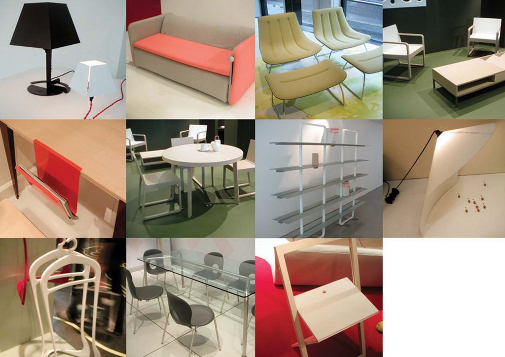 Trendoffice design trends salon du meuble de paris 2006 for Salon du design paris