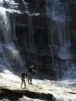 Cascata dell'Acquacheta - Foto di Giovanni Betti - Aprile 2005