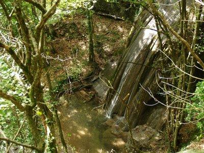 Una cascata del torrente Lavane