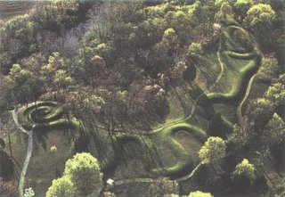 Serpent Mound, aerial photo