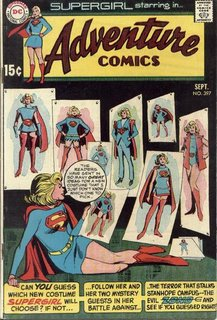The new Supergirl could do with a pantsuit.