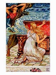 Pandora Abre a Caixa - Walter Crane