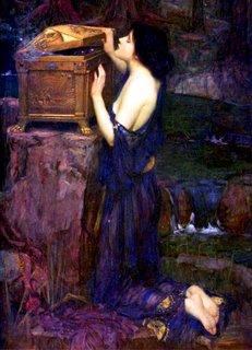 Pandora - de John William Waterhouse - 1896