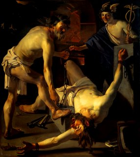 Prometheus Sendo Acorrentado - de Van Dirck
