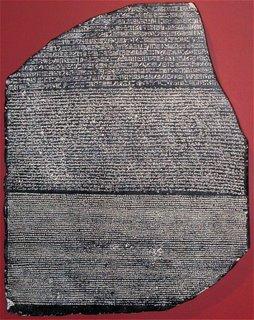 Pedra Rosetta ou Rosetta Stone
