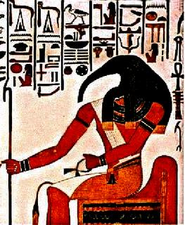 Thot, o deus da escrita no Egito Antigo