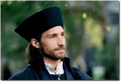 Spalatino interpretado por Benjamin Sadler no filme Lutero de 2003