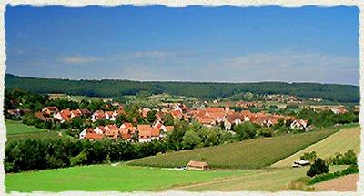 Spalt, sua cidade natal