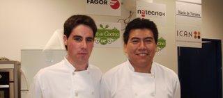 Rubén Goñi y Henry Alvarado