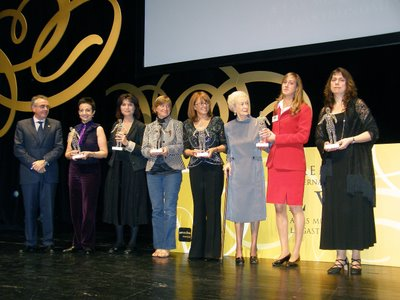 Galardonadas Premios Internacionales Eva 2006