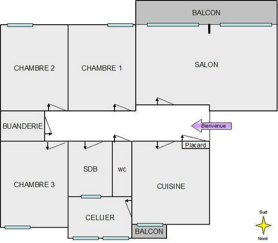 Appartement Vincent Nadine Plan D 39 Ensemble De L 39 Appartement