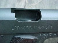 Springfield GI45 Ejection Port