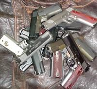Stack of 1911s
