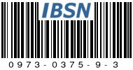 IBSN: Internet Blog Serial Number 0973-0375-9-3