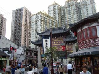 Shanghai: old meets new