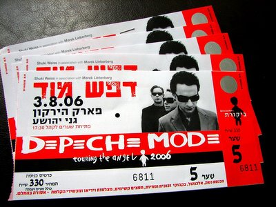 Depeche Mode are on their way!
