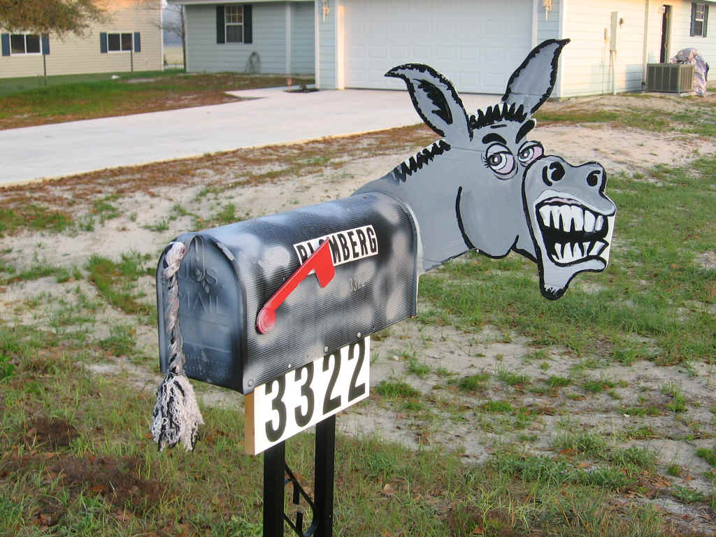 Crazylinkz craziest mailbox designs for What to do with old mailbox
