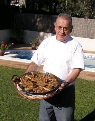 El senor Joachin, cuoco del giorno