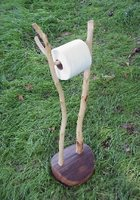 toilet paper holder for the nature lover