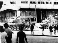 When tanks roamed the streets of Greece...