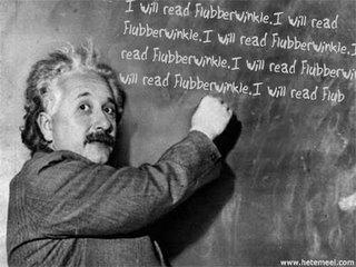 I will read Flubberwinkle