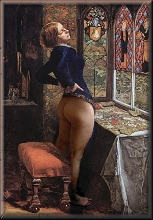 TO BUTTOCKS IN THE HISTORY OF ART HOME