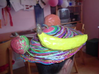 Dani's fruity hat