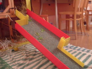 The finished ramp