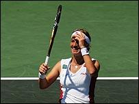 Kuznetsova wins NASDAQ 100
