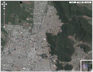Salta (Argentina) desde el aire
