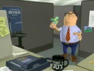 Pedo en la oficina