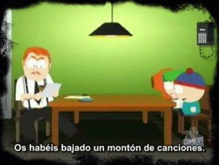 South Park vs RIAA, somos todos piratas