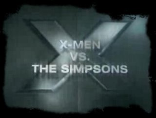 X-Men vs Simpsons