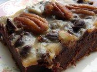 Pouding anglais au chocolat et au caramel écossais
