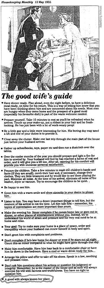 Good Wife Guide