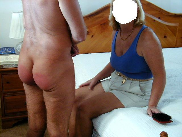 picture wife spanked otk Amateur
