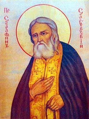 icône Saint Seraphim de Sarov